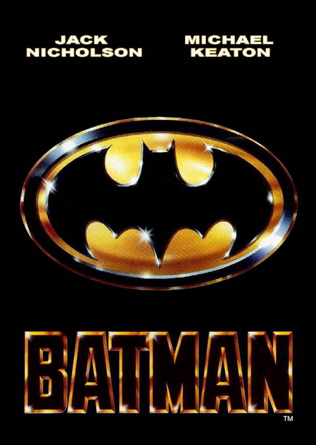 Batman Movie Poster 1989