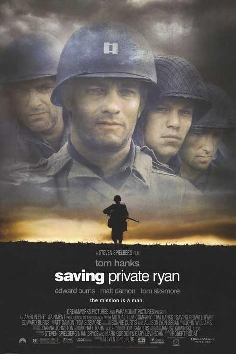 saving private ryan coursework