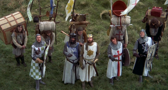 Monty Python Knights of the Round Table