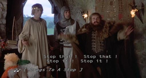 Monty Python No Singing!