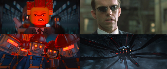 President Business Agent Smith Robots and Sentinels
