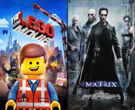 The Lego Movie and Matrix